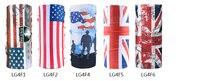 10 قطع البريطانية العلم سلسلة الحجاب عصابات ركوب دراجة نارية ماجيك العصابة المتعددة رئيس وشاح سلس