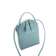 Candy Color One Shoulder Small Messenger Bag Mobile Phone Bag Purse Sweet and simple style
