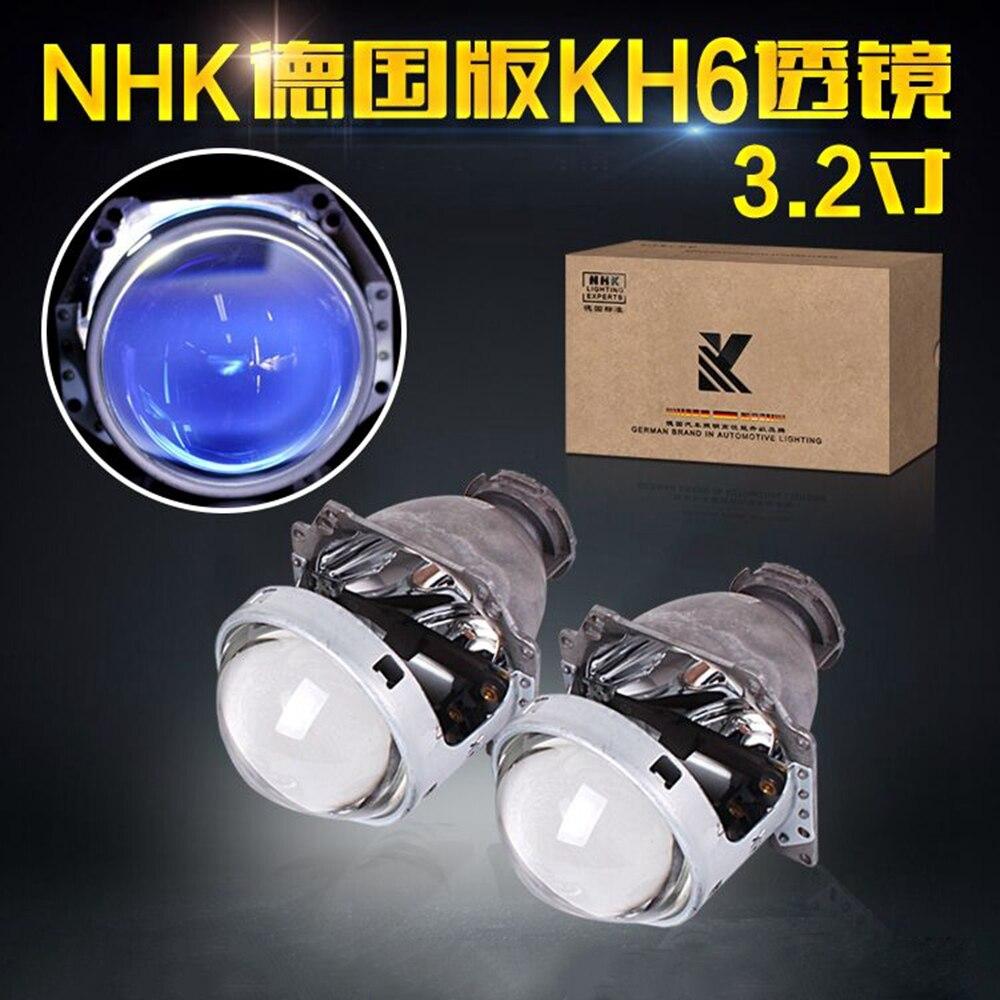 NEW VERSION HELLA 5 G5 EX bixenon hid car projector lens with blue coating 3 2