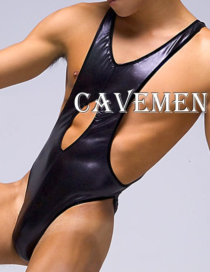 Black leather Jumpsuit* 1746 *sexy lingerie T-Back G-String Underwear Triangle pants Trousers Suit Jacket boxer  free shipping