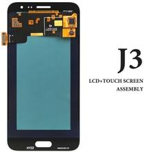 5 шт. смартфон Замена Дисплей для Samsung J3 2015 J300 J300F ЖК-дисплей 5 дюймов белый черный золото Экран сборки для samsung J3