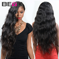 Beyo pelo 4 bundles malaysian virgin onda natural del pelo 7a ofertas de paquete pelo virginal malasio rizado extensiones de cabello humano de la armadura