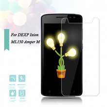 2.5D 0.26mm Ultra Thin Tempered Glass for DEXP Ixion ML150 Amper M Toughened Screen Protector Film Protective Screen ><