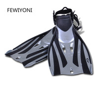 FEWIYONI Adjustable Scuba Diving Fins For Adult Women Or Men Swimming Training Equipment Monofin Shoes Snorkeling Flippers
