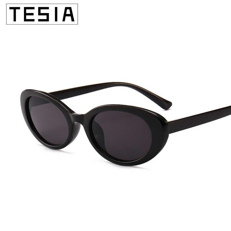 Nhỏ Hình Bầu Dục Kính Mát Nữ Màu Hồng Đỏ Kính Thương Hiệu Thiết Kế Sắc Thái Cho Người Phụ Nữ Sunglases Zonnebril Dames UV 100% Oculos De Sol