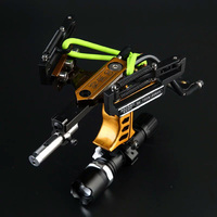 Laser New Sergeant Slingshot G5 Stainless Steel Aluminium Alloy Powerful Catapult Camouflage Military Panther With Arrow