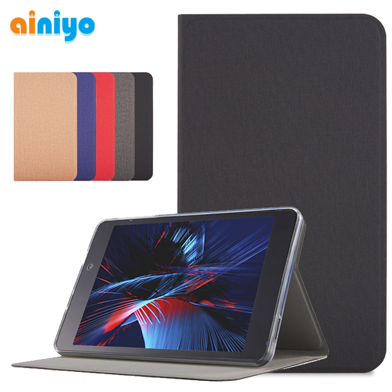High Quality Stand Cover Case For Alldocube M8 8 Inch Tablet Pc +Stylus Pen
