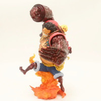 24cm ONE PIECE Monkey D Luffy Gear Fourth Fighting Animation Figure Model