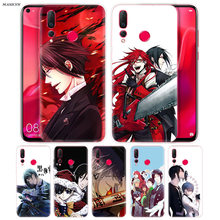 Black Butler Anime Cartoon Phone Case for Huawei Honor 7C 7A 7S 8X 8C 8A 8S 9i 9N P8 P9 Y9 Y5 Y6 Y7 Lite Pro 2018 2019 Cover(China)