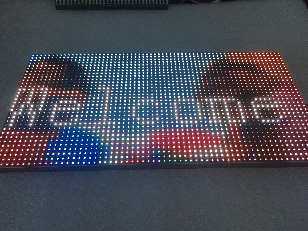 P8 Outdoor Module 256*128mm 32*16pixels  Outdoor SMD3535 3in1 RGB Full Color P8 Led Module For Outdoor LED Display Screen