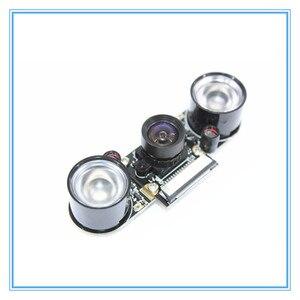Image 2 - ラズベリーパイ 3 ナイトビジョン魚眼カメラ 5MP OV5647 100 度焦点調節可能なカメラのためのラズベリーパイ 3 モデル B プラス