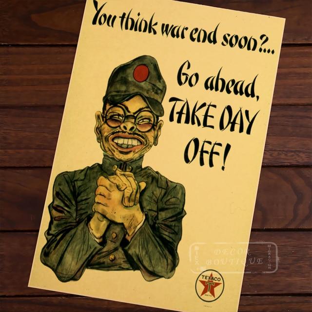 go ahead take day off war us anti jap pacific ww2 poster propaganda