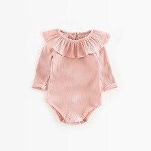Romper Winter Newborn Baby Clothes Long Sleeve Jumpsuit