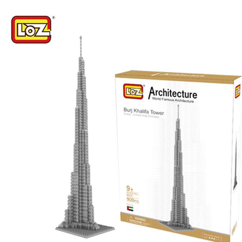 dubai burj khalifa tower loz bloques de construccin de del mundo mini toy bricks d