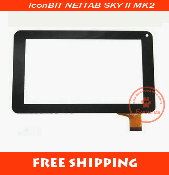New 7 inch iconBIT NETTAB SKY II MK2 Tablet touch screen 30Pins touch panel digitizer glass Sensor replacement Free Shipping штатив gopro hd hero 3 3 2 carmera sj4000 extendable handheld