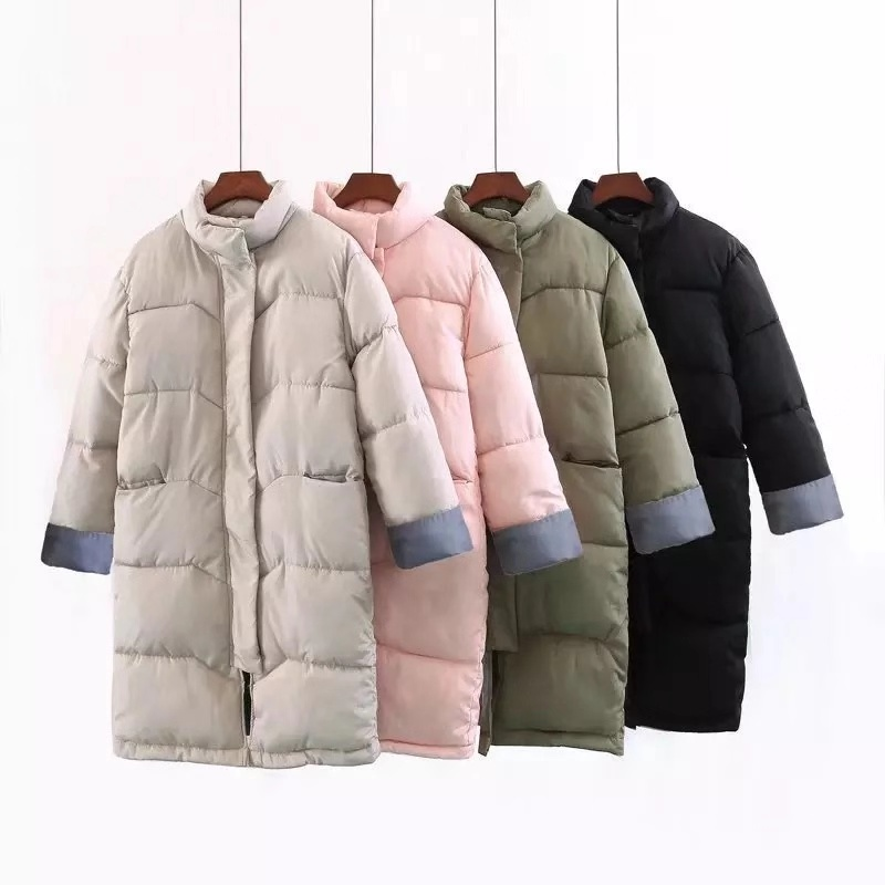 2018 Informal Winter Jacket Girls Heat Lengthy Stable Zipper Thick Slim Full Size Cotton Girls Parkas Plus Measurement 2Xl Girls Clothes