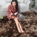 Роскошный плюшевый меховой ковер для гостиной  мягкий лохматый ковер для детской комнаты  ковер для спальни  диван  журнальный столик  коври...