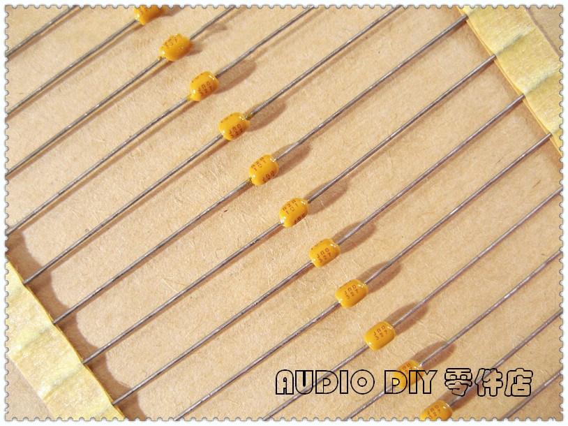 20PCS/100PCS AVX SA10 100pF 200V 200V100pF 5% C0G (NP0) Axial Multilayer Ceramic Capacitor 101 200V101