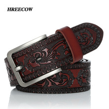 Belts For Men High Quality Cow Genuine Leather Designer Belt Male Fash