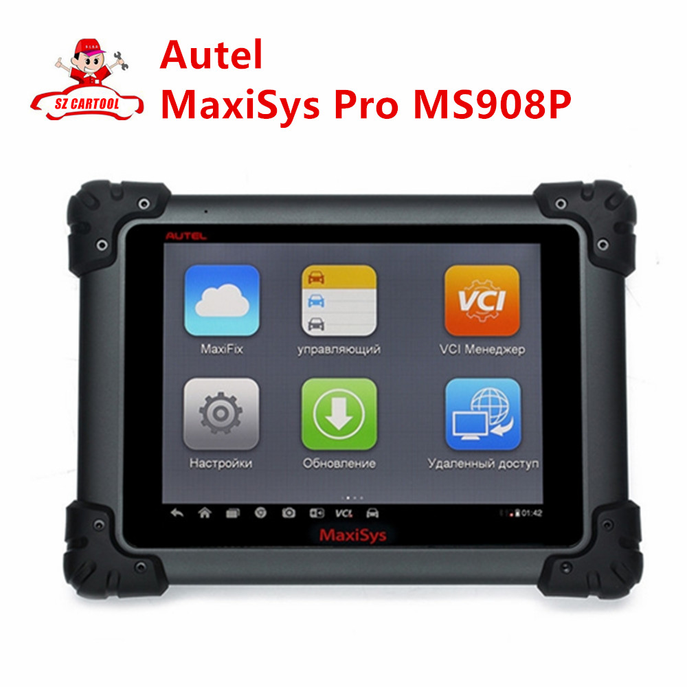 2016 original autel maxisys pro ms908p diagnostic system with j2534 reprogramming box update online ms 908p