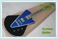 Chinese Guitar Factory Ernie Ball Music Man Armada Electric Guitar in Blue Flame Finish