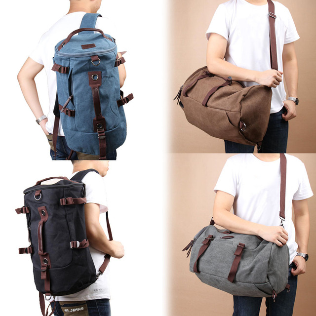 9f395ba3440f Classic Backpack Fashion For Women Shoulder Bag Men s Canvas Backpack  Multi-Color Leisure Travel Bag Unisex Backpack B