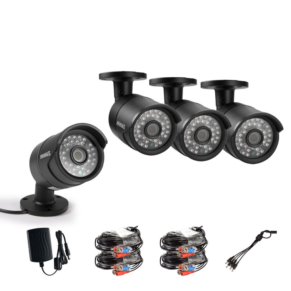 ANNKE 1/3 CMOS 4x 1080P HD Outdoor IR CCTV Camera 36Led Day/Night Vision High Resolution Security Surveillance Cameras hk1080ir2 waterproof 1080p hd 1 3 cmos 1 0mp cctv camera w 2 ir led silver