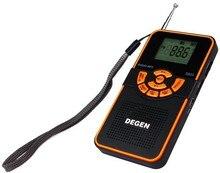 Degen DE22 Radio AM FM Stereo Shortwave Receiver Digital Display Card MP3 FM Radio