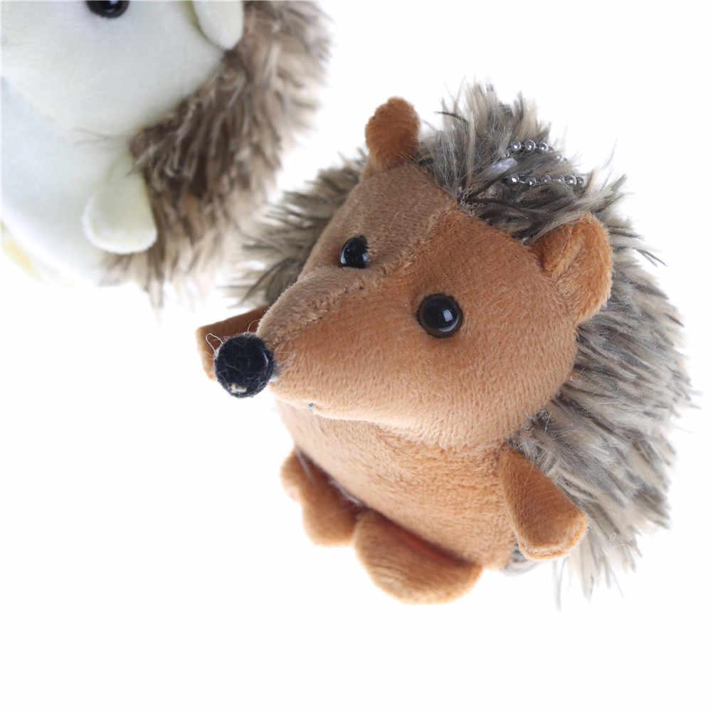 Симпатичные 10 см плюшевый ежик брелок-игрушка брелок для ключей брелок-Плюшевая Игрушка Животные плюшевая мягкая игрушка кукла