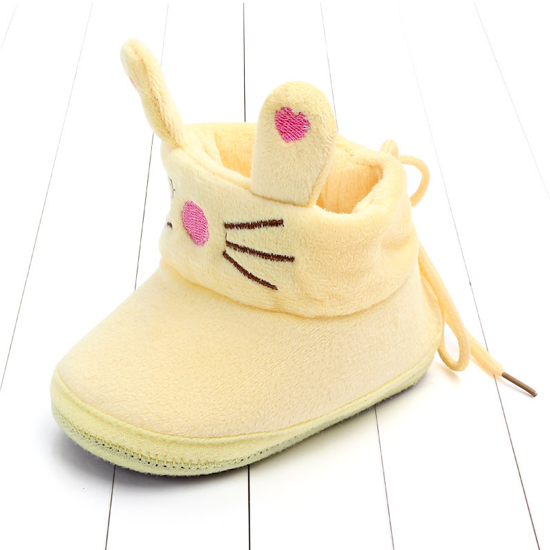 Indoor First Walkers Baby Shoes Cotton Anti-slip Booties Winter Wammer Baby Girl Boy Shoes Newborn Slippers Footwear Booties (29)