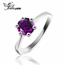 Engaging Purple Amethyst Rings For Ladies Real 925 Sterling Silver Ring Dimension 678 Want Well being, Peace,And Longevity For you