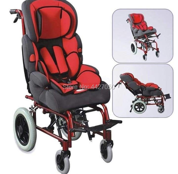 2019 Fashion multifunctional children s cerebral palsy manual wheelchair