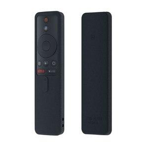 Image 3 - SIKAI سيليكون واقية ل Mi صندوق غطاء لجهاز التحكم عن بعد الجلد ل Xiao Mi صندوق S التلفزيون الذكية عن بعد