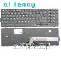 Совершенно новый аппарат не Привязанный к оператору сотовой связи US клавиатура для ноутбука Dell Inspiron 15-3000 5000 3541 3542 3543 5542 5545 5547 5558 17-5000 Клавиату...