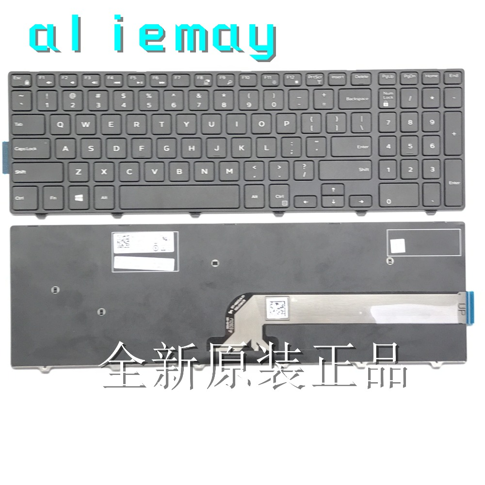 Brand new original US keyboard For Dell Inspiron 15-3000 5000 3541 3542 3543 5542 5545 5547 5558 17-5000 Laptop US Keyboard