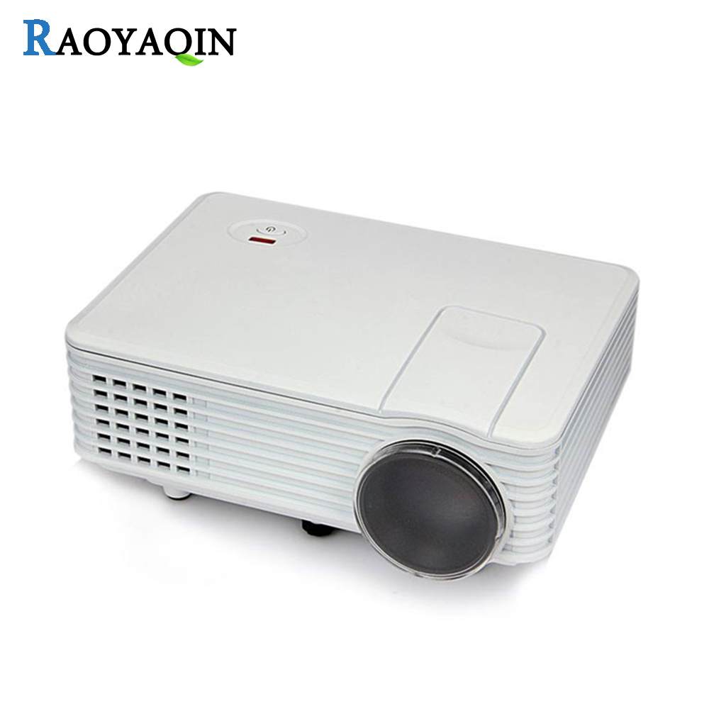 RD805 Portable Beamer Cinema 800 Lumens LED Projector Support 1080P Full HD Home Theater Video Projector VGA/AV/USB/HDMI/TV