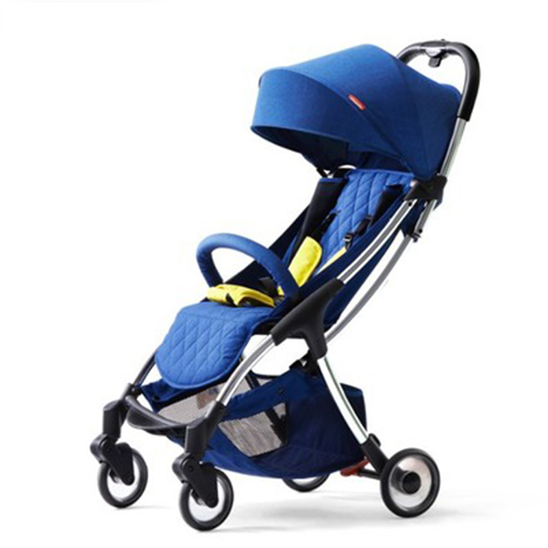 Baby stroller lightweight folding portable mini 1-3 years old baby can sit lie simple child umbrella car