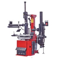 Automatic Tyre Changer With Tilting Back Post With Double Help Arm China Tyre Changer Modle 650S