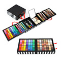 Professional 177 Full Color Eyeshadow Make Up Palette Blush Concealer Cosmetic Makeup Shimmer Matte eyeshadow Brush Set kit