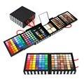 Profissional 177 Full Color Eyeshadow Palette Maquiagem Corar Corretivo Maquiagem Cosméticos Shimmer Matte eyeshadow Brush Set kit