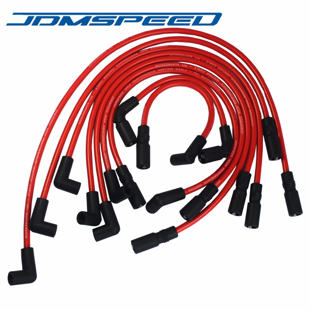 Free Shipping Jdmspeed High Performance Spark Plug Wire Fit For Gmc Sbc Engine Ignition Wiring Chevrolet Oldsmobile 43l Vortec V6 1996 2014 In Coil From Automobiles