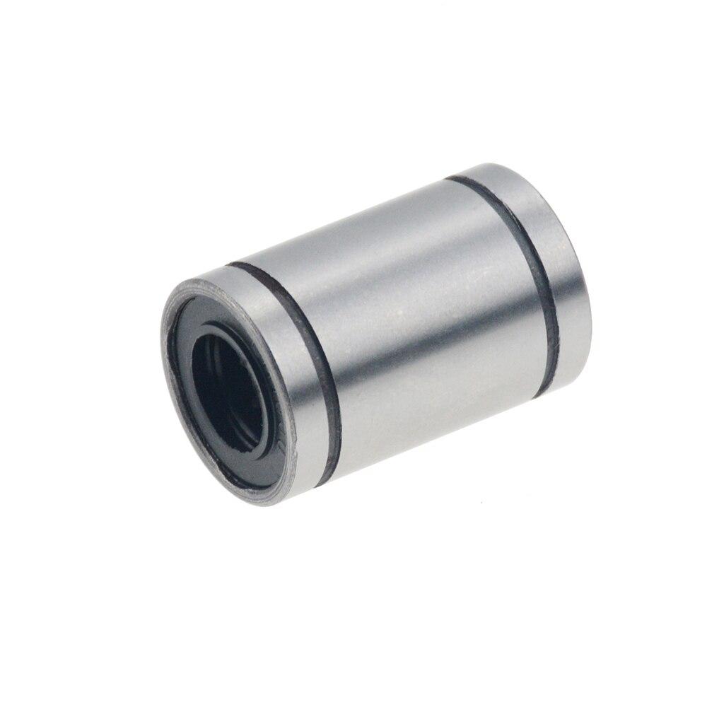 100pcs lot LM8UU 8mm linear bushing linear bearings CNC 3D printer parts