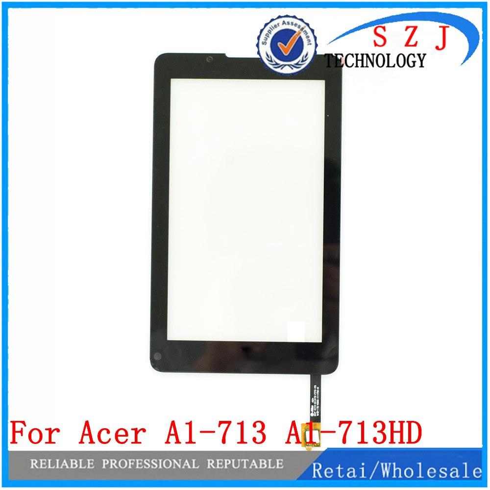 Новый 7 для acer iconia Tab7 A1-713 A1-713HD Tablet Сенсорный экран планшета Сенсор Панель спереди Стекло объектив черный, белый цвет