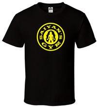 Saiyan's Gymer- Black T-shirt DBZ Dragonball Z Super Goku All Sizes S-2XL New Arrival Male Tees Casual Boy T Shirt Discounts