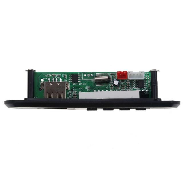 Wireless Audio Receiver Adapter USB AUX Car MP3 player decorder board FM radio SD card playing suppport WAM  WAV MP3 5V 12V