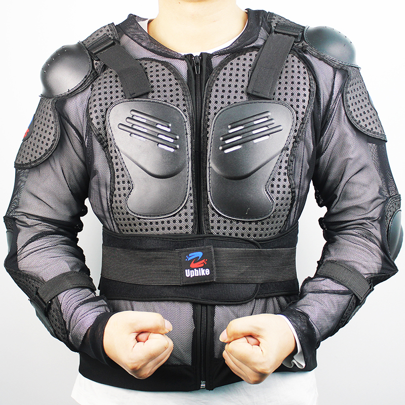 Motorcycle Jacket Body Armor Spine Chest Protective Jackets Gear Full Body Protection Motocross Motorcycle Jacket