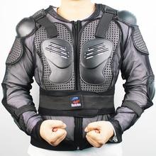 Chaquetas de la Chaqueta de la motocicleta Body Armor Spine Protectora Pecho Gear Chaqueta de la Motocicleta Motocross Protección Completa Del Cuerpo