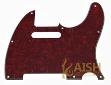 Red  Pearl  Guitar Pick Guard Scratch Plate Fits TL Guitar