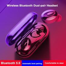 HobbyLane XG-15 TWS 5,0, Беспроводная Bluetooth игровая гарнитура, наушники для ушей, активные наушники с шумоподавлением d20