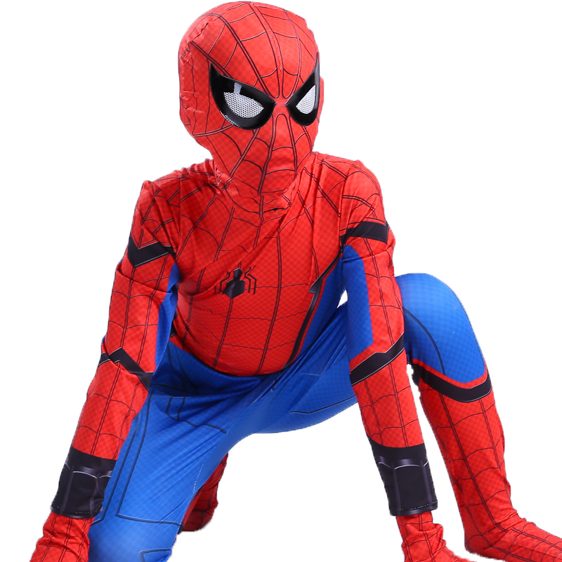 spider man spider-man spiderman homecoming cosplay costumes halloween costume for kids adult suit children boys adult men